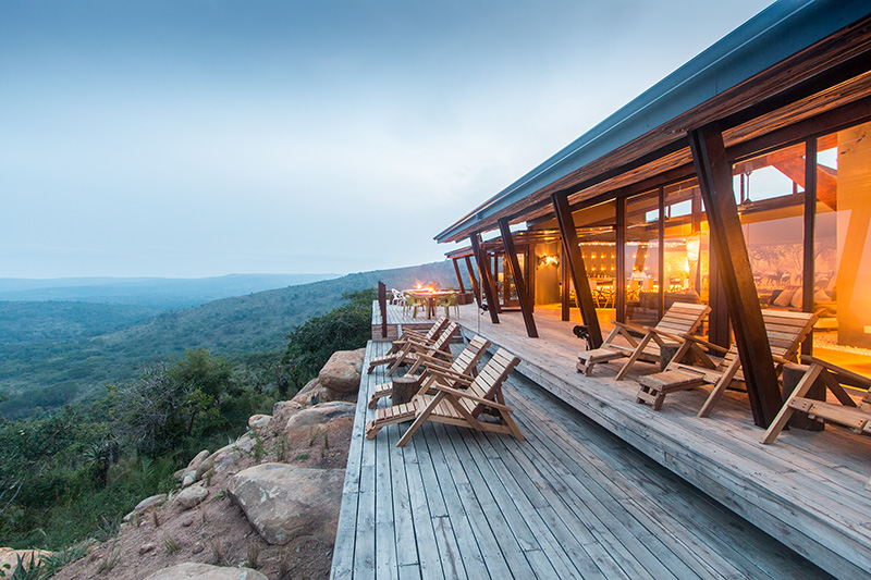 Isibindi Rhine Ridge Safari Lodge