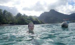 Francouzská Polynésie ostrov Moorea