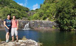 Vodopády Tamarin - 7 kaskád