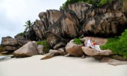 La Digue svatba