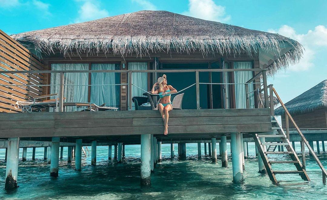Eva Perkausová Maledivy